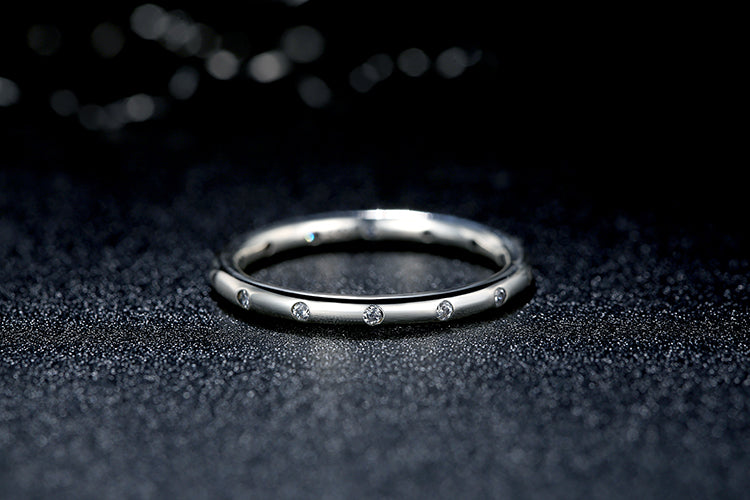 Sterling silver ring for ladies