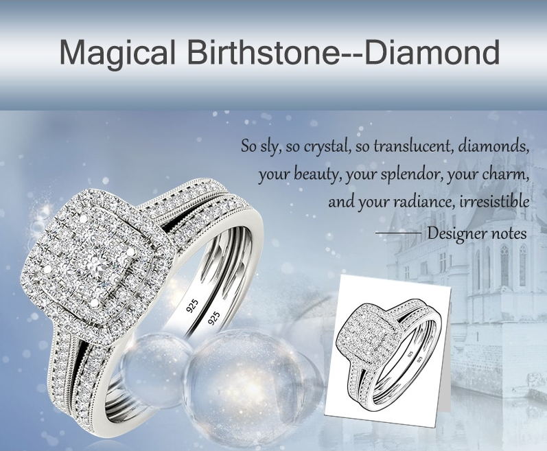 Diamond Ring as birth stone
