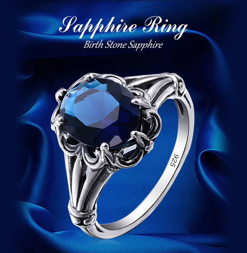Real Solid 925 Sterling Silver Ring for ladies