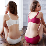 Ladies Lace Push Up Bra Panties Set Cute/High Quality/Floral