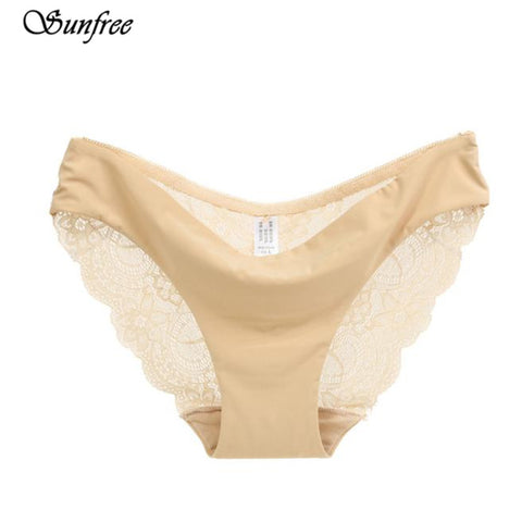 566dee136cbd Hot sale! l Ladies sexy lace panties seamless cotton breathable/ ...