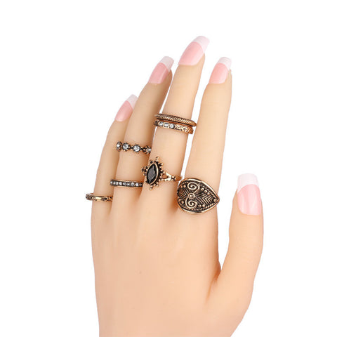 Vintage Small Size Ring Set for Women