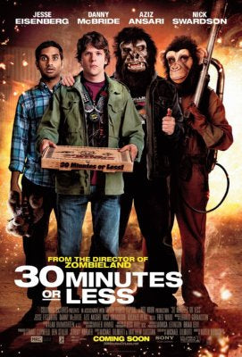 30 Minutes Or Less Movie Mini Poster 11x17 #01