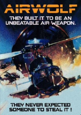 Airwolf Mini Poster 11x17