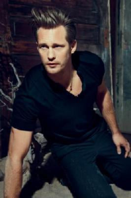 Alexander Skarsgard Photo Sign 8in x 12in