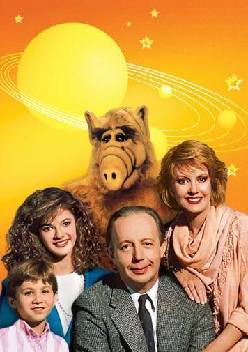 Alf Photo Sign 8in x 12in