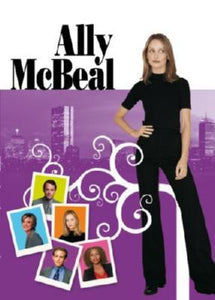 Ally Mcbeal poster tin sign Wall Art