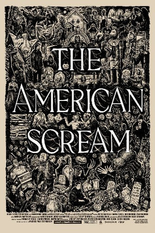 American Scream 11inx17in Mini Movie Poster