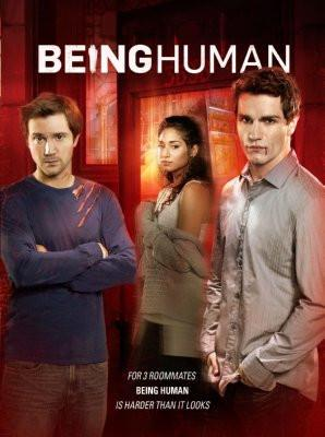 Being Human poster tin sign Wall Art