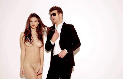 Blurred Lines Robin Thicke Emily 11inx17in Mini Poster