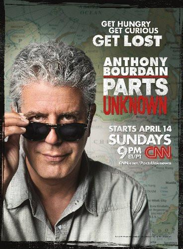 Anthony Bourdain Parts Unknown poster tin sign Wall Art