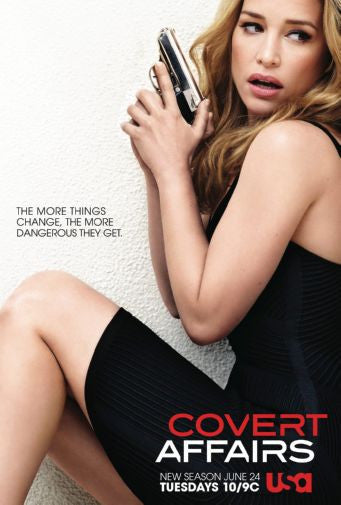 Covert Affairs 11inx17in Mini Poster