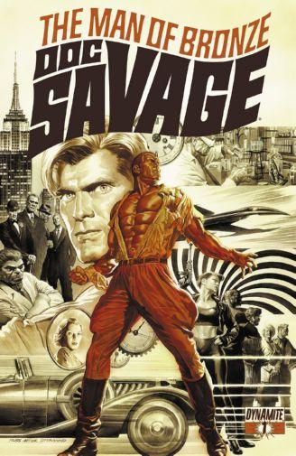 Doc Savage poster tin sign Wall Art