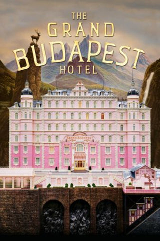 Grand Budapest Hotel Movie Poster 11inx17in Mini Poster
