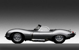 Jaguar Xk Ss 1957 11inx17in Mini Art Poster