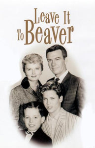 Leave It To Beaver poster tin sign Wall Art