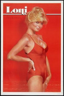 Loni Anderson poster tin sign Wall Art