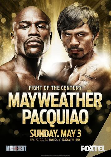 Floyd Mayweather Poster 24in x36in