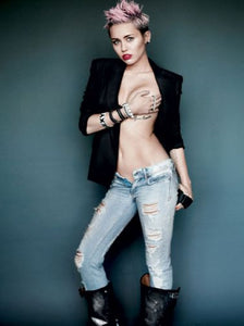 Miley  Poster 11Inx17In Mini Poster