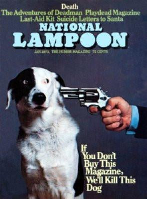 Nation Lampoon Cover Buy This Magazine Or poster tin sign Wall Art