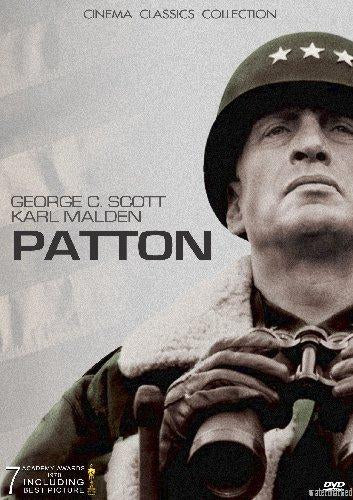 Patton Mini movie poster Sign 8in x 12in