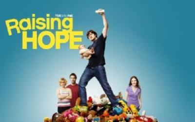 Raising Hope Photo Sign 8in x 12in