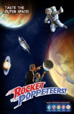 Rocket Poppeteers Photo Sign 8in x 12in