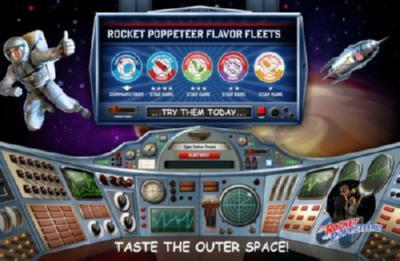 Rocket Poppeteers poster tin sign Wall Art