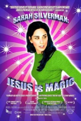 Sarah Silverman Jesus Is Magic poster tin sign Wall Art