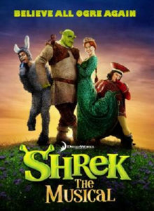 Shrek Musical Fox Theatre St. Louis Mini Poster #01 11x17 Mini Poster