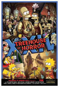 Simpsons Treehouse Of Horror Xxiv  Poster 11Inx17In Mini Poster