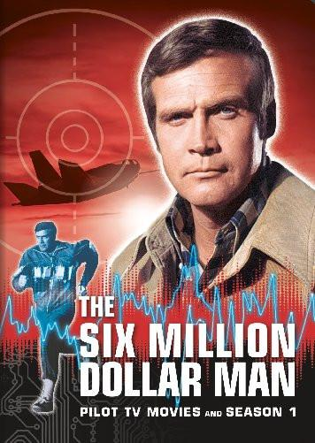 The Six Million Dollar Man poster tin sign Wall Art
