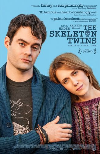 Skeleton Twins Movie Poster 11inx17in Mini Poster
