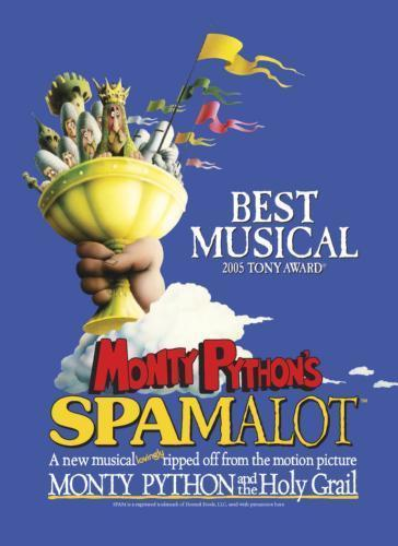 Spamalot poster tin sign Wall Art