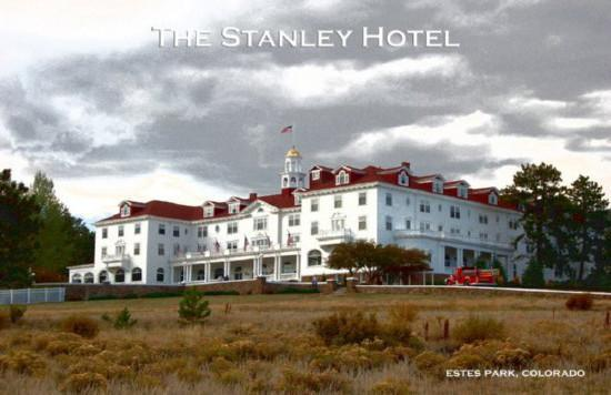 The Stanley Hotel Art Photo poster tin sign Wall Art