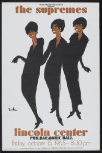 Supremes Mini Poster #01 At Lincoln Center 11x17 Mini Poster