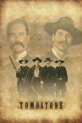Tombstone movie poster Sign 8in x 12in