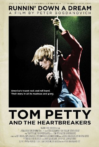 Tom Petty Runnin Down A Dream 11inx17in Mini Poster