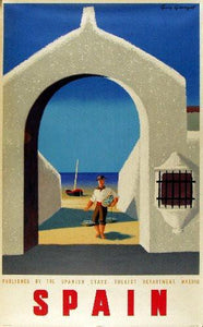 Travel Agency Art Spain Art poster tin sign Wall Art