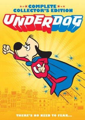 Underdog poster tin sign Wall Art