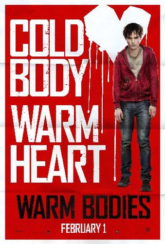 Warm Bodies poster tin sign Wall Art