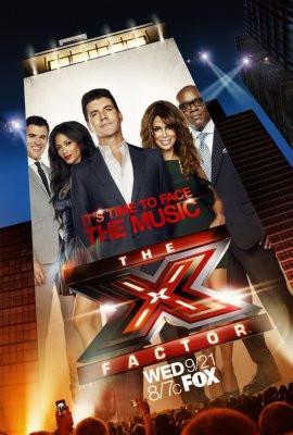 X Factor The poster tin sign Wall Art