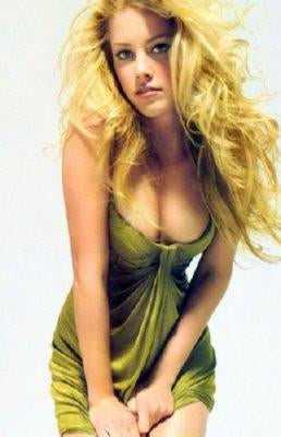 Amber Heard poster tin sign Wall Art