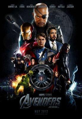 Avengers Photo Sign 8in x 12in
