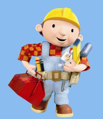 Bob The Builder poster tin sign Wall Art
