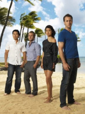 Hawaii 5-0 Cast Mini Poster 11inx17in