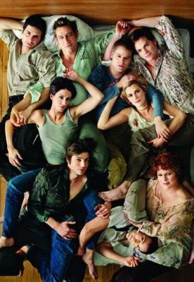 Queer As Folk poster tin sign Wall Art