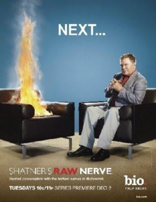 Raw Nerve poster tin sign Wall Art