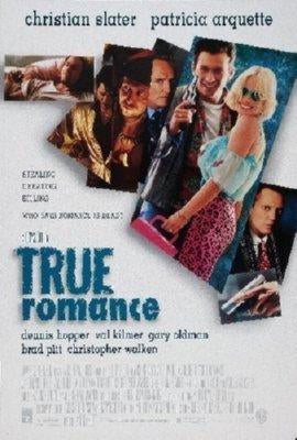 True Romance Mini movie poster Sign 8in x 12in