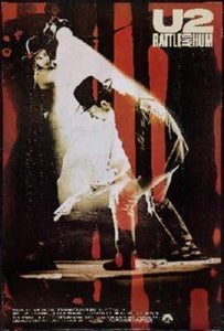 U2 Rattle And Hum poster tin sign Wall Art